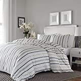 Stone Cottage Conrad Comforter Set, King, Medium Grey