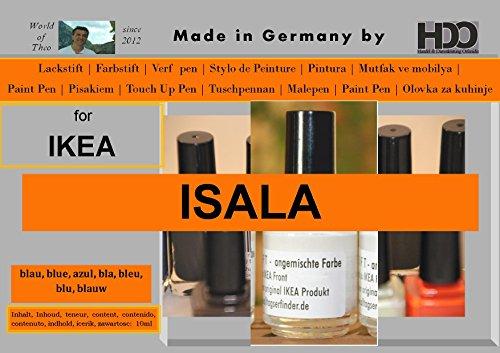 HDO Farbstift Lackstift Touch-up-Pen for Ikea Isala Blue
