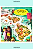 Aloha Airlines Map of Hawaii Notebook: Vintage Map Cover and Lined blank wide ruled notebook  6 by 9 Tiki