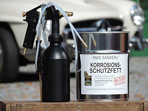 Druckbecherpistole HSDR 3300 Set mit 2 Sonden u. 4kg Mike Sanders