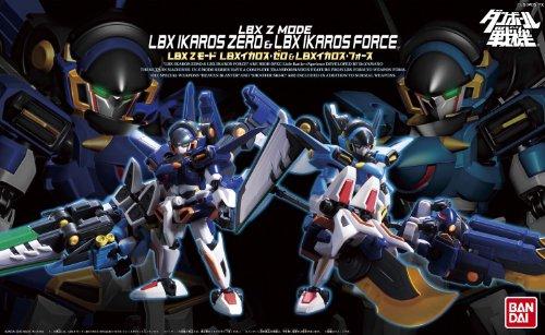 Little Battlers eXperience W - Z-Mode Series LBX Ikaros Zero & LBX Ikaros Force (japan import)