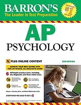 Barron s AP Psychology 8th Edition  with Bonus Online Tests