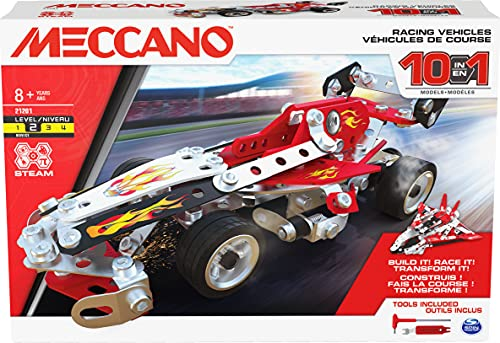MECCANO 6060104 MEC 10MSet MultiModelRaceCar CN...