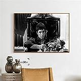 ganlanshu Retro Konferenzplakat und Druckgrafik Wanddekoration Gemälde auf Leinwand Wohnzimmer Home Decor,Rahmenlose Malerei,50x70cm