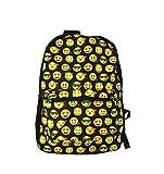 Sonrisa Estilos Emoti - Mochila escolar diseño emoticonos - Bolsa de hombro - Mochila de viaje....
