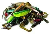 Major Fish Gummifische Set 100 Gramm ca. 20 Stück Gummiköder Barsch Zander Hecht