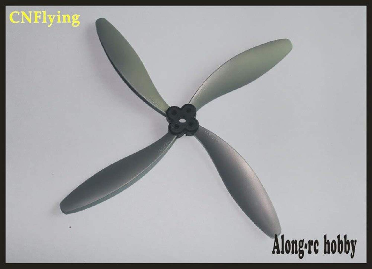 Laliva New MD Propeller 6  7  8 inch 2 Blade 3 Blade 4 Blade Propeller for RC Airplane Part for Aircraft RC Model - (color  4 Blade(8060))
