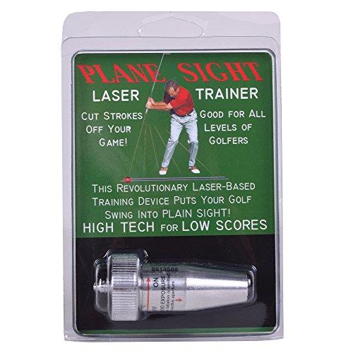 Plane Sight Laser Golf Swing Training Aid