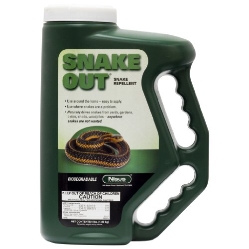 Nisus Snake Out Snake Repellent 779135, Clear, 4_Pound