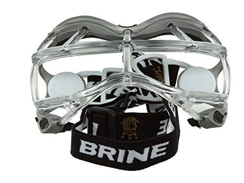 Brine Seeker Lacrosse Goggles Silver Mens Style: WGOSEK3-SL Size: OS
