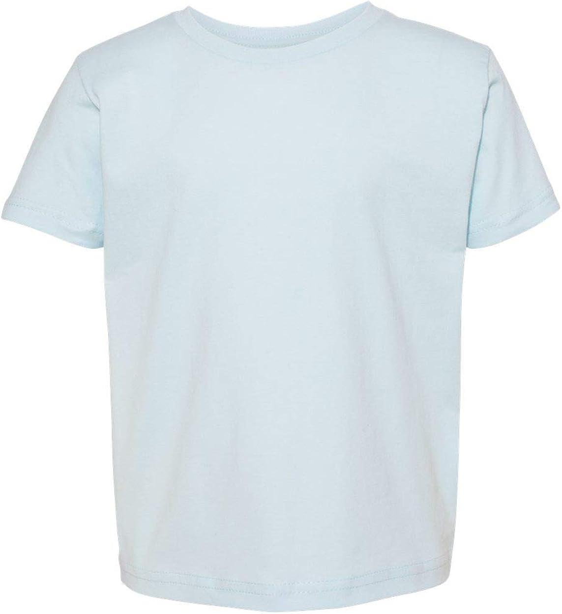 Next Level Baby Boy Cotton T-Shirt, Light Blue, 3T