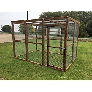 4wire Dog Run Cat Chicken Fox Proof Pen 6ft x 9ft Mesh Roof:Kisaran