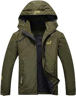 BPOF99 Men's Autumn Winter Solid Sport Outdoor Windbreaker Thick Warm Jacket Coat Mens Christmas Fashion 2019