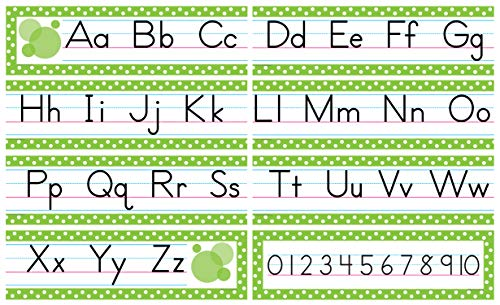 Teacher Created Resources Traditional Printing Mini Bulletin Board, Green (4088)
