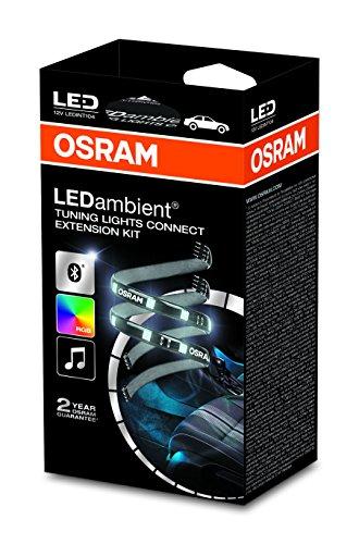 Osram LEDambient TUNING LIGHTS CONNECT, Extension-Kit, Fahrzeug-Innenraumbeleuchtung, LEDINT104, 12V, Faltschachtel (1 Stück)