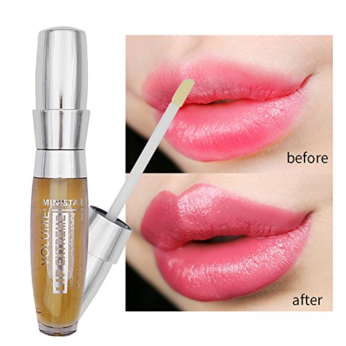 Allbesta Lipgloss Enthält Ingwer Saft Würzig Lippen Enhancer Vergrößerer Sperren Sie das Öl das...
