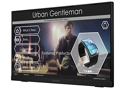 Planar Helium PCT2235 Touch Screen 22' LED LCD Full HD Resolution Monitor with Helium Stand,black