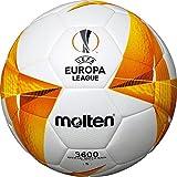 Molten Replica Ball UEFA - Pallone da allenamento, colore: Bianco/Arancione/Nero 5