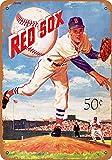Lorenzo Boston Red Sox Vintage Metal Vintage