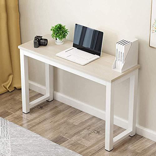 Holz Computer Schreibtisch Computer Workstation Büro Schreibtisch PC Laptop Tisch Workstation Esstisch Warm Weiß-Ahorn Kirschbaum_80x40cm