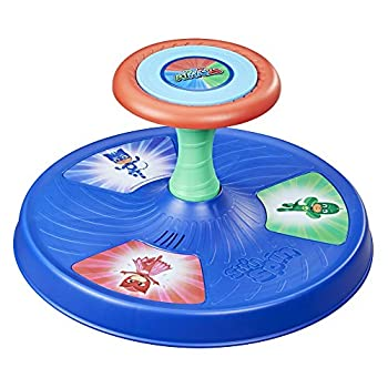Playskool PJ Masks Sit  n Spin Musical Classic Spinning Activity Toy for Toddlers Ages 18 Months and Up  Amazon Exclusive