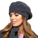 Kamea Damen Baskenmütze Kopfbedeckung Herbst Winter Barcelona