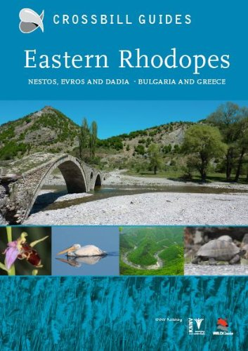Hilbers, D: Eastern Rhodopes: Nestos, Evros and Dadia - Bulgaria and Greece (Crossbill Guides, Band 14)