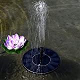 Zoom IMG-1 JZDZ Hobbylane Solar Fountain Floating