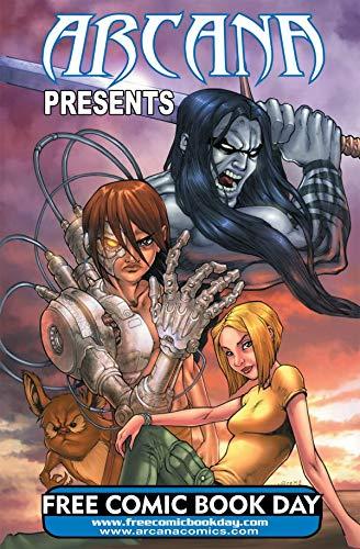 Arcana Studio Presents 2008 FCBD Ed (English Edition)