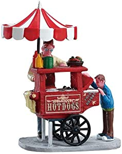 Lemax Village Collection Hot Dog Stand #12932