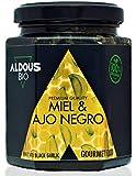 Miel Bio Authentique à l'Ail Noir Bio | 240g | 100% Naturel et Artisanal Sans Colorants ni Conservateurs | Antioxydant, Médical, Gourmet | Sans Sucre ajouté | Certifié Bio | Qualité Prémium