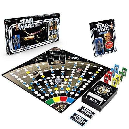 Hasbro Star Wars Retro Game - Escape de la Estrella de la Muerte, multicolor (Hasbro 5010993640041)