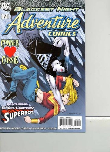 Adventure Comics with Black Lantern Superboy #7