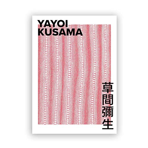 YWOHP Exposición de Artistas japoneses Carteles e Impresiones Puntos ilimitados Arte Abstracto Pintura Lienzo galería decoración de Pared 60x80_cm_No_Frame_PC3882