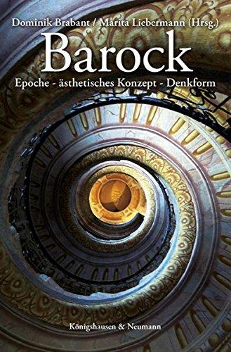Barock: Epoche · ästhetisches Konzept · Denkform