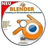 BLENDER Software zur Erstellung von 3D-Animationen und 3D-Modelle NEU -