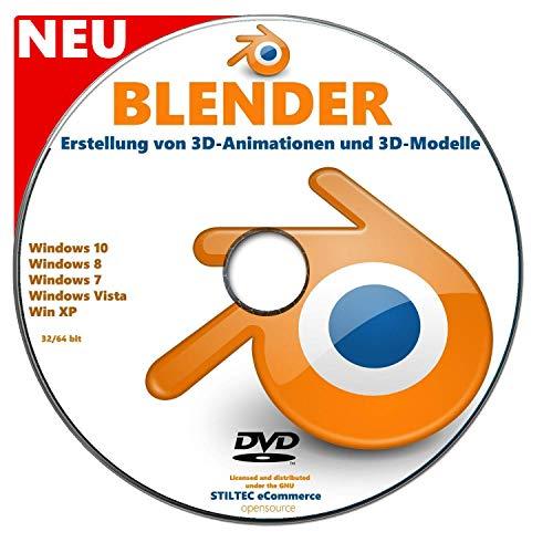 BLENDER Software zur Erstellung von 3D-Animationen und 3D-Modelle NEU