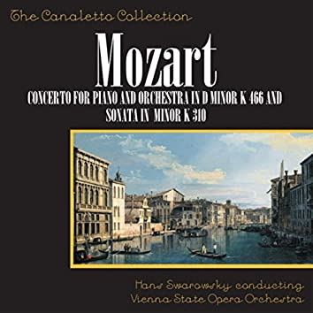 Wolfgang Amadeus Mozart: Concerto No. 20 For Piano And Orchestra In D-Minor, K. 466 / Piano Sonata In A-Minor, K. 310
