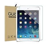 iPad New 2018 / 2017 / iPad Pro 9.7 / iPad Air2 / iPad Air フィルム ブルーライト 90% カット 強化ガラス 高鮮明 耐衝撃 防爆裂 硬気泡ゼロ 指紋防止対応 飛散防止処理