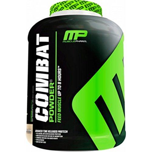 MusclePharm Combat Protein Powder (4lbs) Milk Chocolate, 1.814 kg