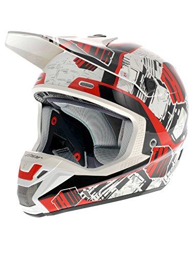 Casque Motocross Thor 2014 Verge Block Rouge