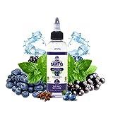 E-Liquid BLUEBERRY BLACKCURRANT MENTHOL DAINTYS | 80ML TPD | ECO VAPE | Sin Nicotina: 0MG | E-Liquido para Cigarrillos Electrónicos - E Líquidos para Vaper 50/50
