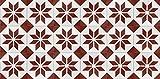 Printodecor | Alfombra vinílica Videl Rojo - Impresión fotográfica a Todo Color - Vinilo (PVC transitable) 2,8mm Espesor.