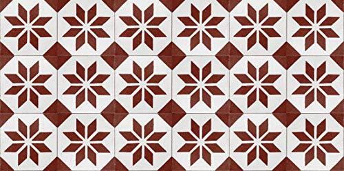 Alfombras Cocina Vinilo Rojo alfombras cocina  Marca Printodecor