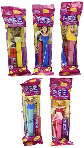 Disney Princess PEZ Candy Dispensers Pack of 12