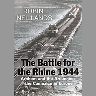 The Battle for the Rhine 1944 audiobook cover art