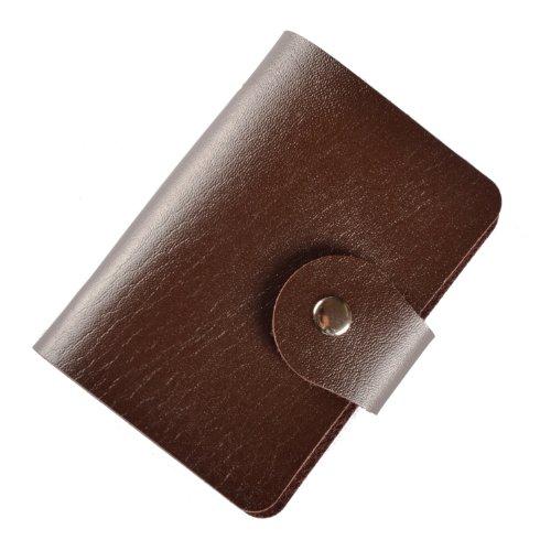 Brilliance Co Porta Carte Di Credito/visite (Marrone, 24 Carte)