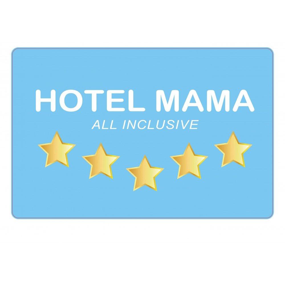 4 pieza Hotel Mama Espacio Juego de mesa Base/Manteles individuales/Bringmann – Carpetas de plástico/bajo para amasar Situación/eßunterlage: Amazon.es: Hogar