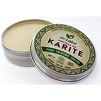 Manteca de karité sin refinar Afrinatur · pura · 100% BIO Ecológica Certificada Ecocert - Pieles Atópicas - 100 ml