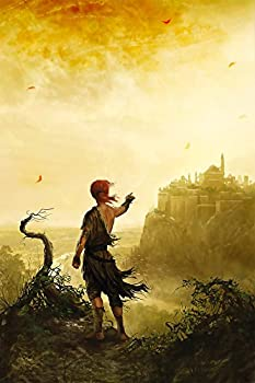Best Print Store - Kingkiller Chronicles in The Name of The Wind Kvothe at The University Poster  11x17 inches